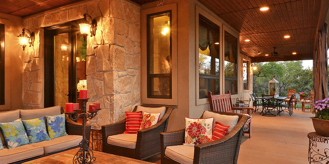 Back Porch Hill Country Plans